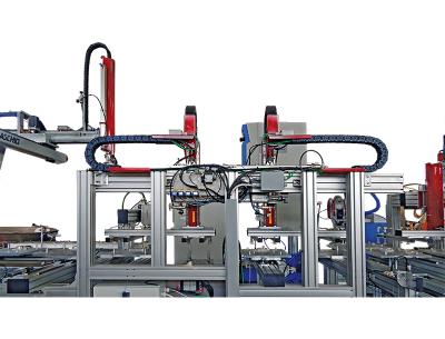 Impianto-saldatura-di-tappi-ed-inserimento-guarnizione-su-coperchio-di-fusti-di-plastica-per-liquidi
